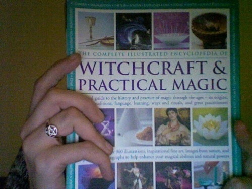 the complete illustrated encyclopedia of witchcraft & practical magic (by susan greenwood & raje airey, published by hermes house)bought this at halfprice books today (for like $8) and it is, so far, the most informative and awesome book i have ever owned. it literally has articles on every practice, theory, and technique from throughout history, as well as profiles on important figures. all of it objective and without bias. tiny tiny tiny print too, lots to read! and so many beautiful p