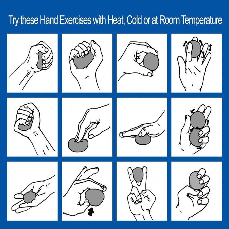 Hand exercise program for rheumatoid arthritis