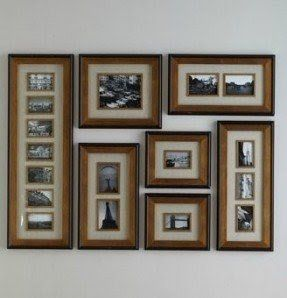 Extra Large Photo Collage Wall Frame Set