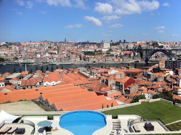 Vista da Ribeira do Porto, Gaia, 2012
