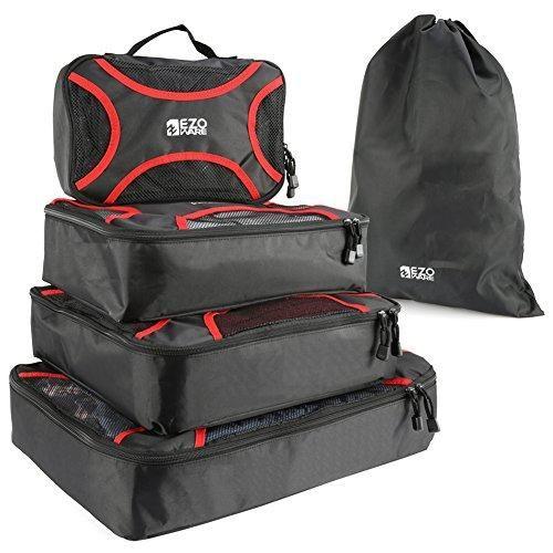 Oferta: 25.99€ Dto: -38%. Comprar Ofertas de EZOWare 5x Fijado cubo de viaje Organizador de Viaje, Bolsas de Embalaje, Cubos de Embalaje, Cubos de Viaje, Negro barato. ¡Mira las ofertas!