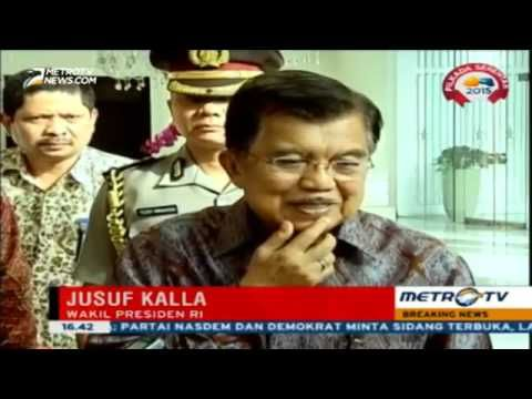 Berita Terbaru 8 Desember 2015   JK Lebih Bagus Setya Novanto Mundur