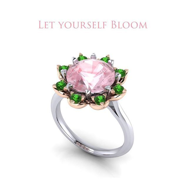 Blooming Ring  Symbol of love, loyalty, eternity, wealth, power... What does ring mean to you?!