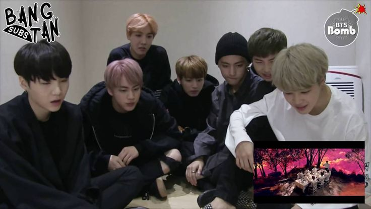 [ENG] 161012 BOMB: 'Blood Sweat & Tears' MV Reaction by BTS  - thank you to the ARMYs who sub these videos  . . . you guys are my heroes