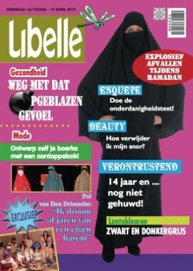 Gewaagde cover van Libelle door het Vlaams Belang