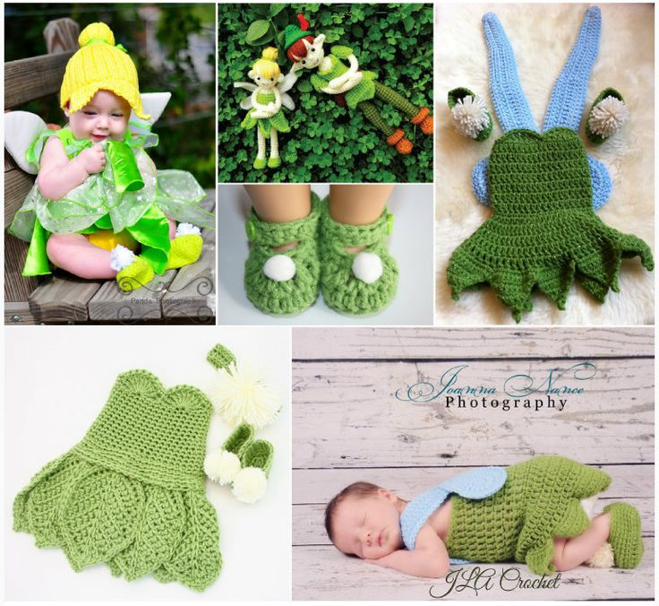 Tinkerbell Crochet Projects