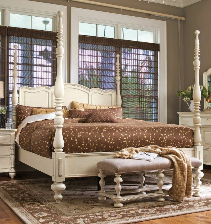 Paula Dean Furniture. Would love this bed, in black.
