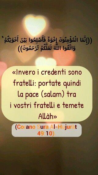 versetti del Corano in italiano