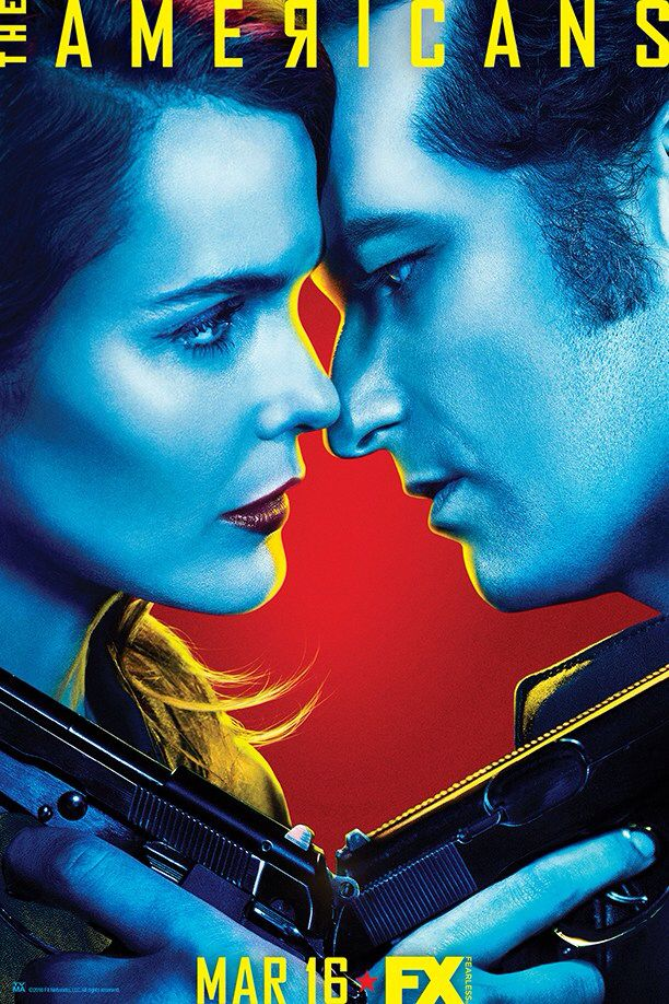 Tv Show: The Americans  Starring: Keri Russell & Matthew Rhys