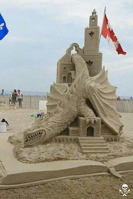 Fifth Place and Peopleu0027s Choice sand sculpture by Michel Lepire & 104 best Sand Castles images on Pinterest | Sand art Snow ... azcodes.com