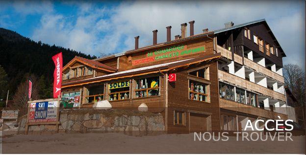 Location chalets Lispach La Schlucht La Bresse Hautes Vosges