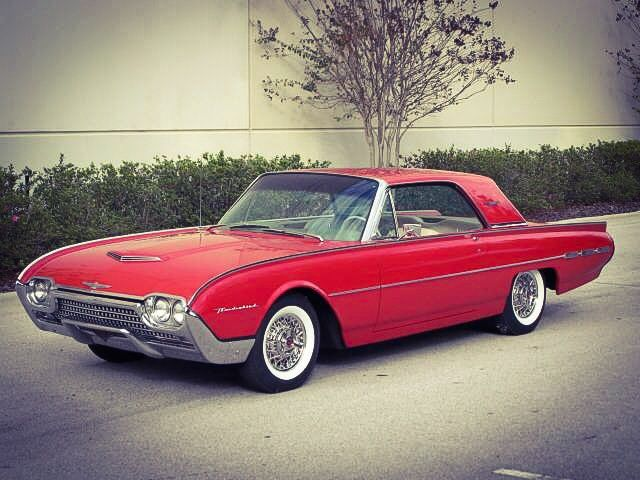 Best Cars American Automobiles Thunderbird Images On