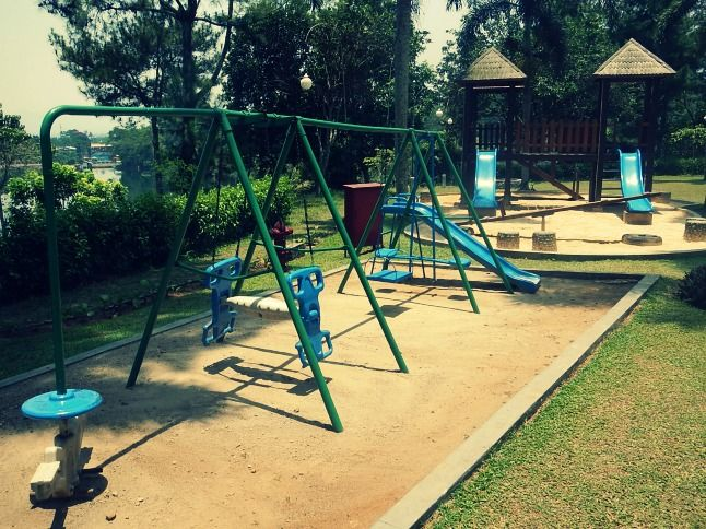 Playground by the pool - Lido Lake Resort and Conference, Bogor, West Java, Indonesia  http://lidolakeshotel.com/