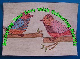 A Pretty Talent Blog: Cardmaking: Colour My Love Part 1