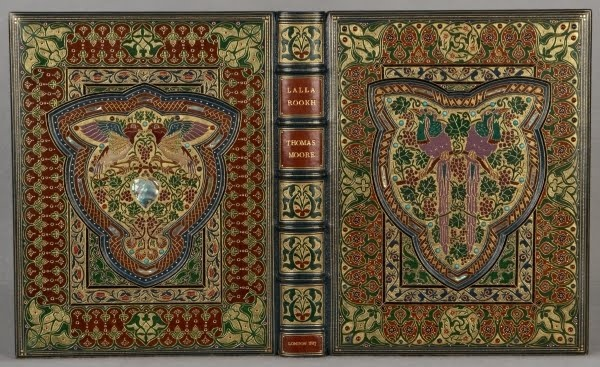 A jeweled Sangorski & Sutcliffe binding for Thomas Moore's Lalla Rookh
