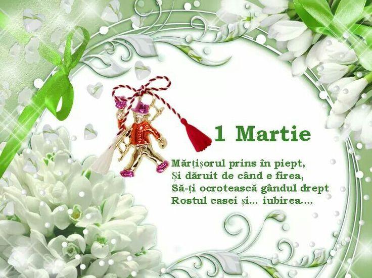 1 Martie calator va aduce-un mărtisor! (nu uita sa-ti alegi o zi babă)  ;) For all my Romanian followers!