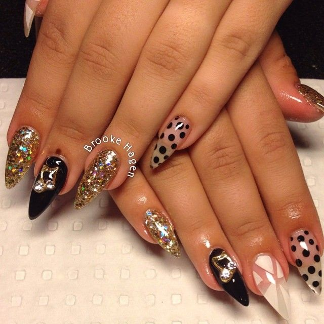Stilleto Nail Ideas For Prom: 752 Best Stiletto Nails