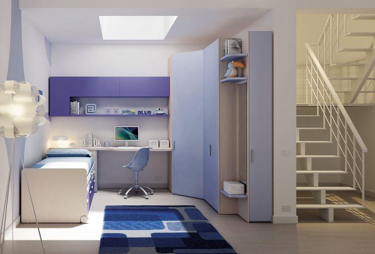KC20 modrý dětský pokoj / children's room