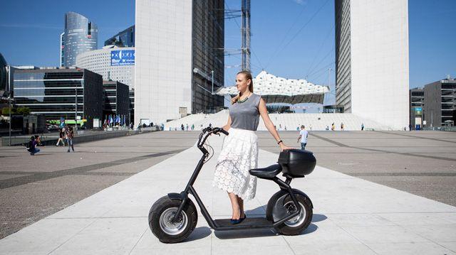 Lo scooter elettrico adatto a ogni terreno #terra #energYnnovation