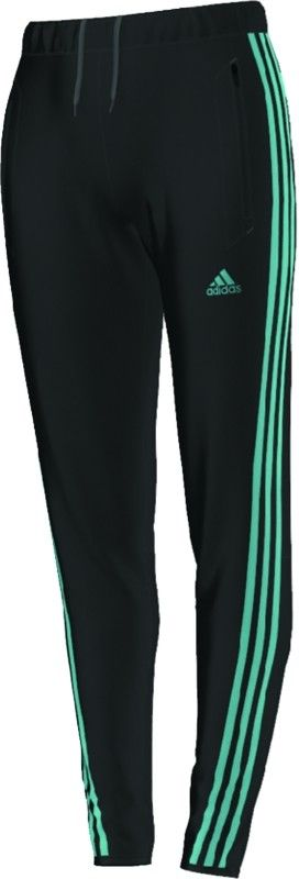 Women's Tiro 13 Training Soccer Pants - Black/Turquoise