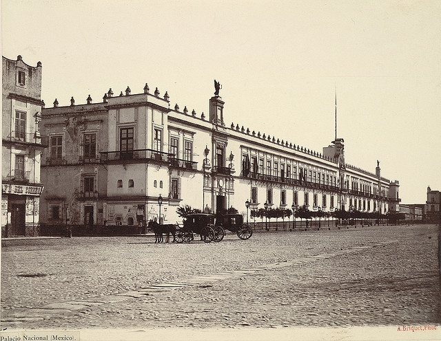 National Palace, Mexico City by Cornell University Library