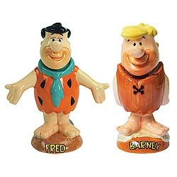 The Flintstones™ Fred And Barney Bobblehead Set: Barney Bobblehead, Heads Jack, Flintstonestm Fred, Bobblehead Set