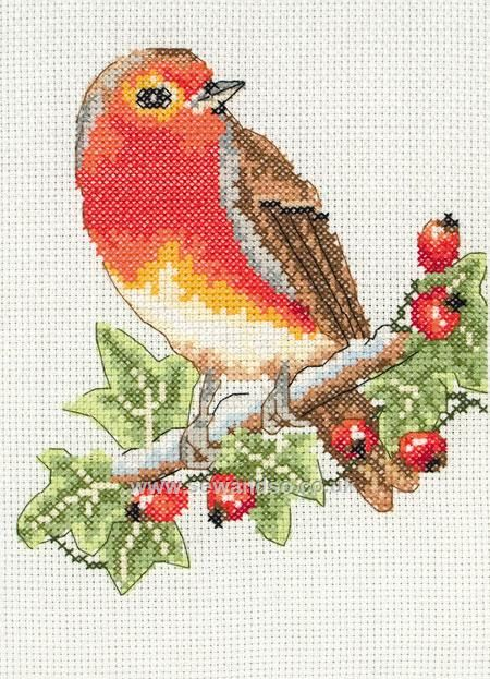 Shop online for Red Robin Cross Stitch Kit at sewandso.co.uk. Browse our great range of cross stitch and needlecraft products, in stock, with great prices and fast delivery.