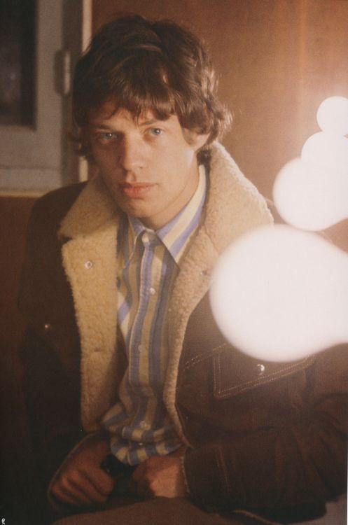 Mick Jagger in Paris, 1965.