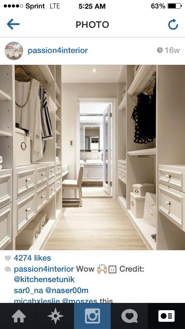 Walk Through Not Walk In Closet Walk In Closet Design