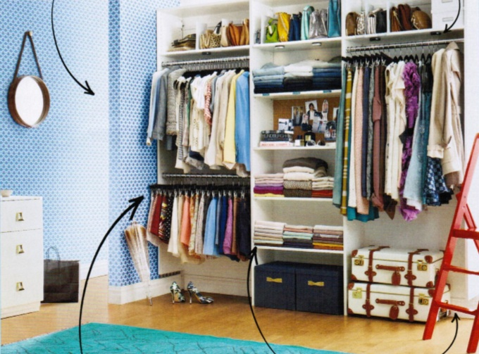 pinterest closet organization ideas