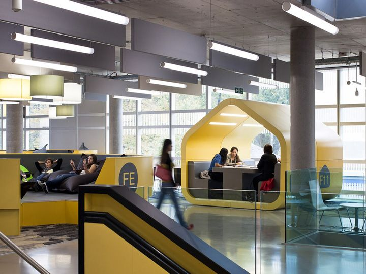 Bentley Library Study Room
