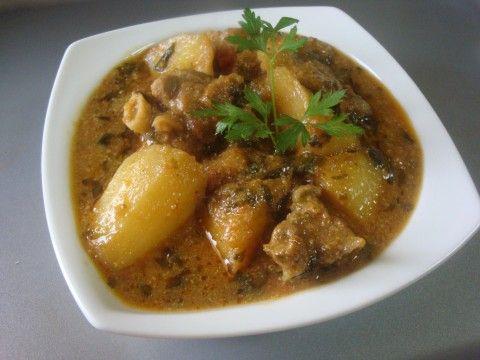 mutton potato curry in tamil