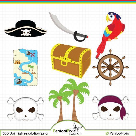Pirate Clipart Pirate Clip Art Pirate Digital Clipart Etsy Pirate Clip Art Clip Art Digital Clip Art