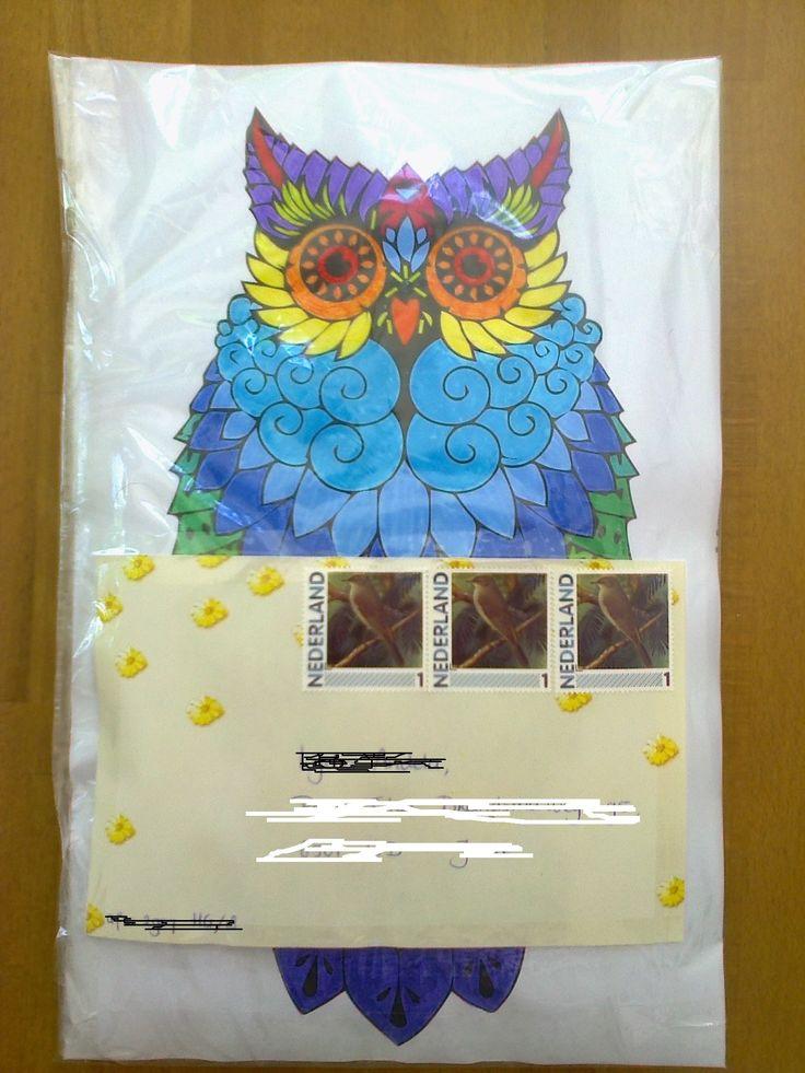 Owl envelope