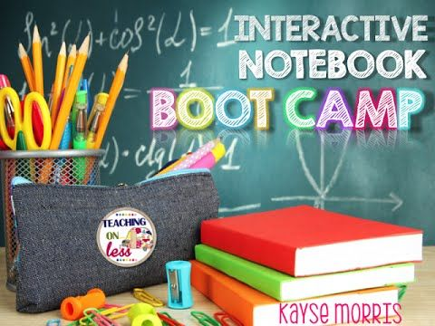 Interactive Notebooks : Interactive Notebooks : Interactive Notebook BootCamp This video is all about interactive notebooks. Any subject, any grade, let's do...