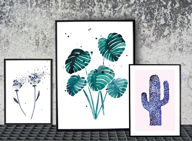 Rama in din finaste blomma och låt den bli ett glatt fönster mot sommaren. Mixa med olika stilar och bind samman med likadana ramar på alla, blanda fritt men utgå från favoritfärgen och låt...