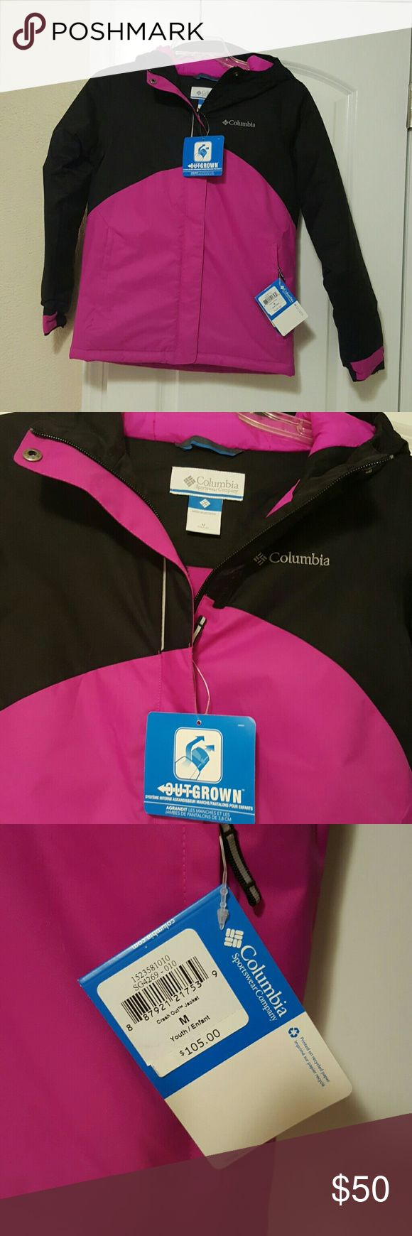 NWT Girls' Columbia Winter Jacket Brand New Girls' Columbia Coat!! Sz M (10/12) Columbia Jackets & Coats