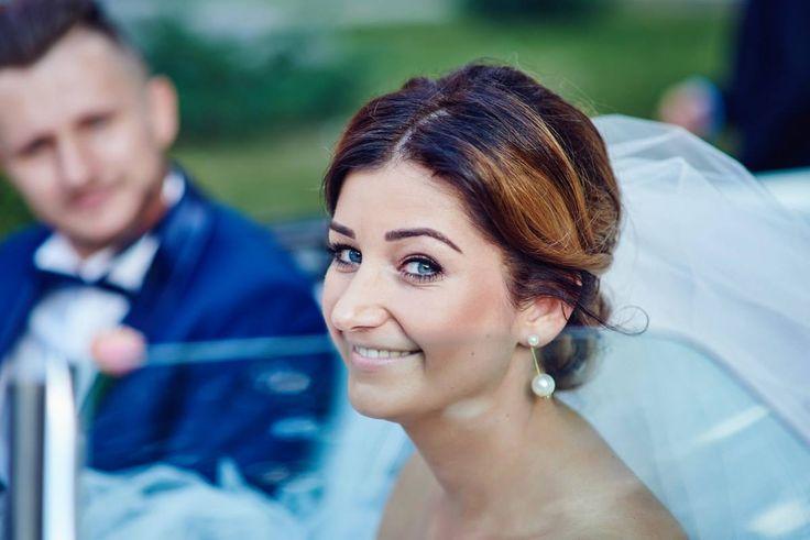 Upięcie Agnieszka Wdowiak, makijaż Marta.   #wedding #party #makeup #hairstyle