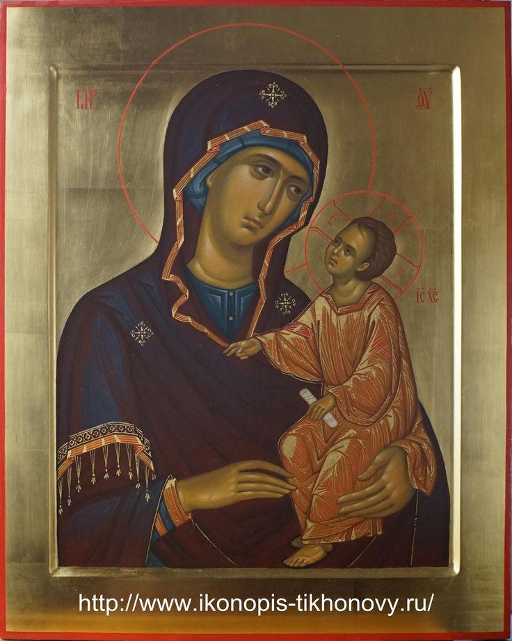 The Jerusalem Icon of the Theotokos / Спас и Богородица