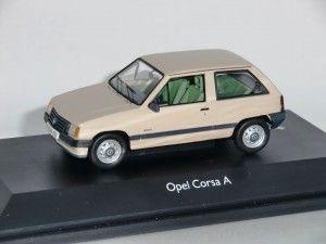 Opel Corsa A Pergament Schuco 1:43