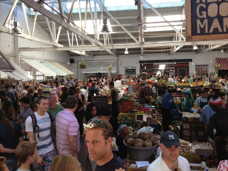 THis is how a food market is done