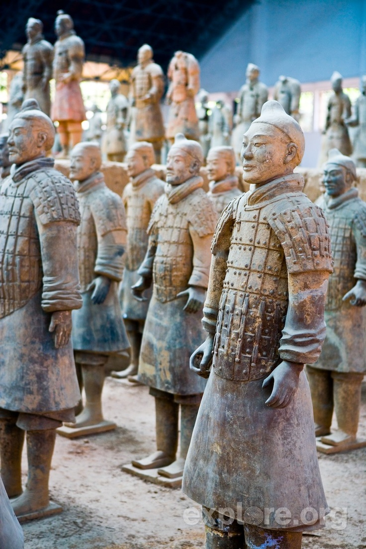 chinas terra cotta army Terracotta warriors facts  there were more than 700,000 laborers working on the tomb complex and on the terracotta army each terracotta warrior is unique.