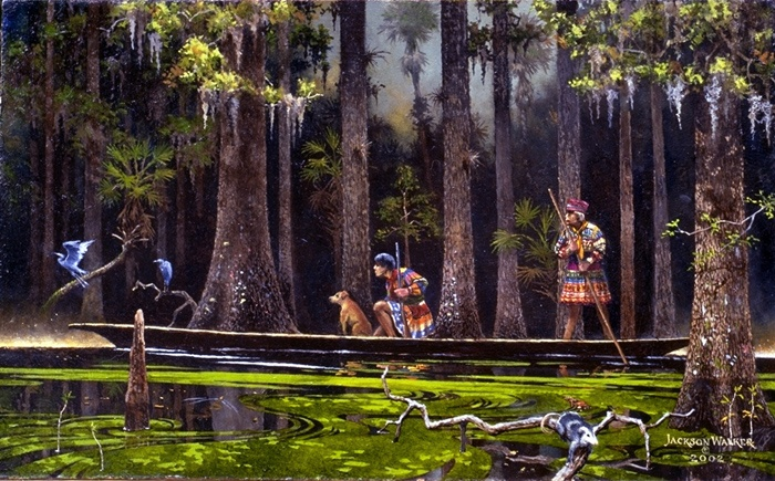 Jackson Walker Florida Artist, Florida History Paintings, Military History Paintings, Legandary Florida, US History, Florida Landscape Paintings