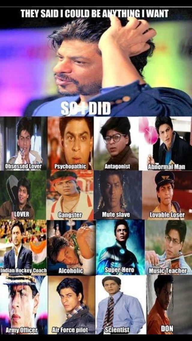 Yes true.. shahrukh khan
