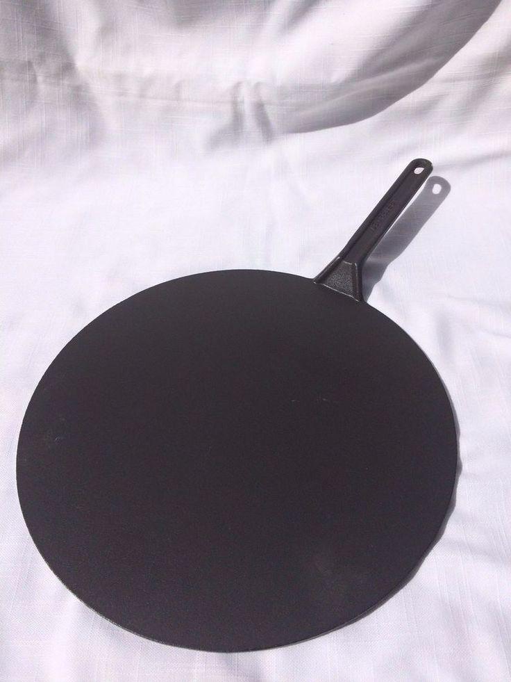 Vintage Le Creuset Cast Iron 12 1/2 Inch 32 Cm Crepe Pan Rare No Enamel  #LeCreuset $89.99 | Waffle Irons And Crepe Griddles | Pinterest | Le  Creuset Cast ...