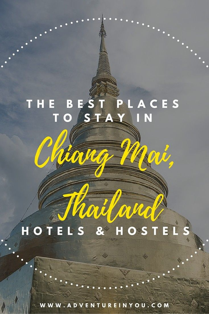 Here are our personal recommendations on the best places to stay in chaing mai thailand that will suite every type of budget