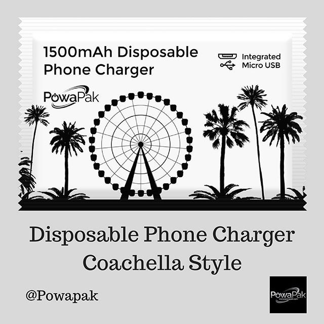 Disposable Phone Charger -Coachella Style If you wanna try this, visit here: https://powapak.com/ . . #Powapak #mobiledevices#mobilestand #mobiledetailing #mobilephotography #mobilegraphy #mobileshot #mobileapps #mobilecase #mobilegames #games #movies #web #browse #accessories #landscape #view #devices #easy#simple #useful #charger #battery #iphone #apple