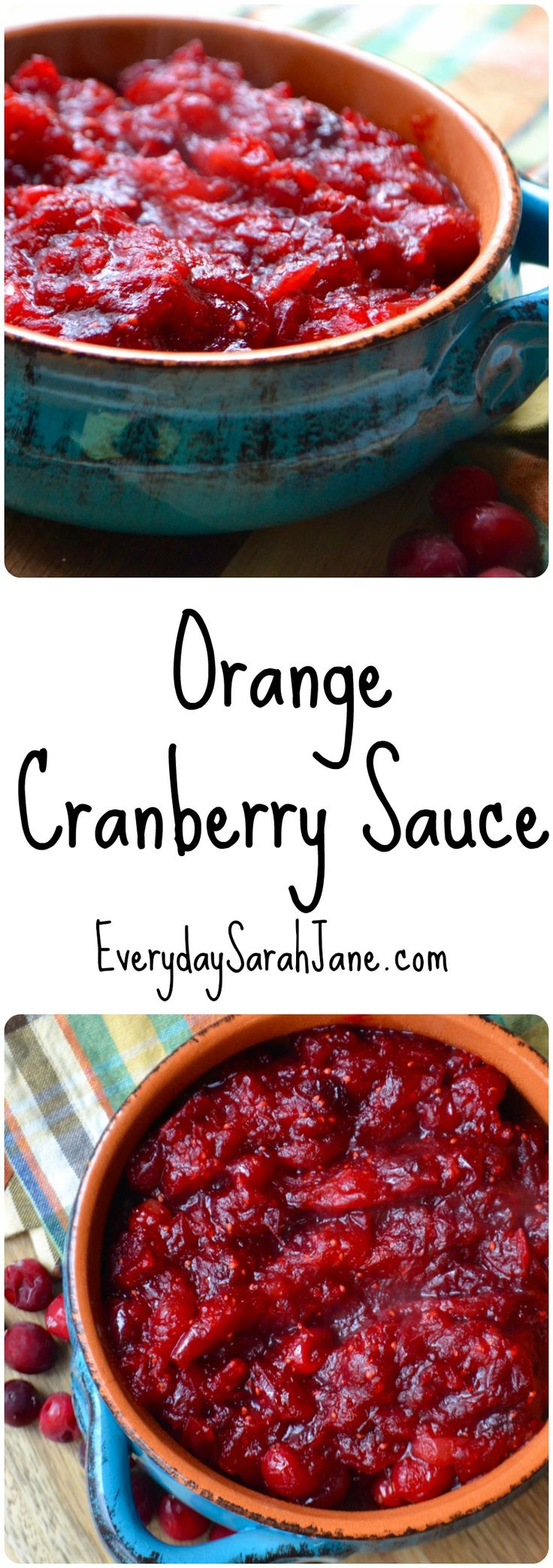 Easy & delicious homemade cranberry sauce!