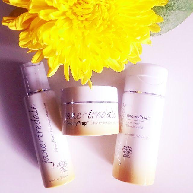 Minäkö keski-ikäinen?: Jane Iredale BeautyPrep ihonhoitotuotteet, mineraa...