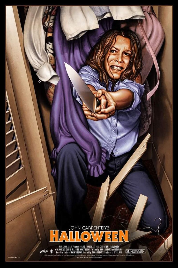 "Horror Movie Poster Art : ""Halloween"" 1978, In Honor Of ..."